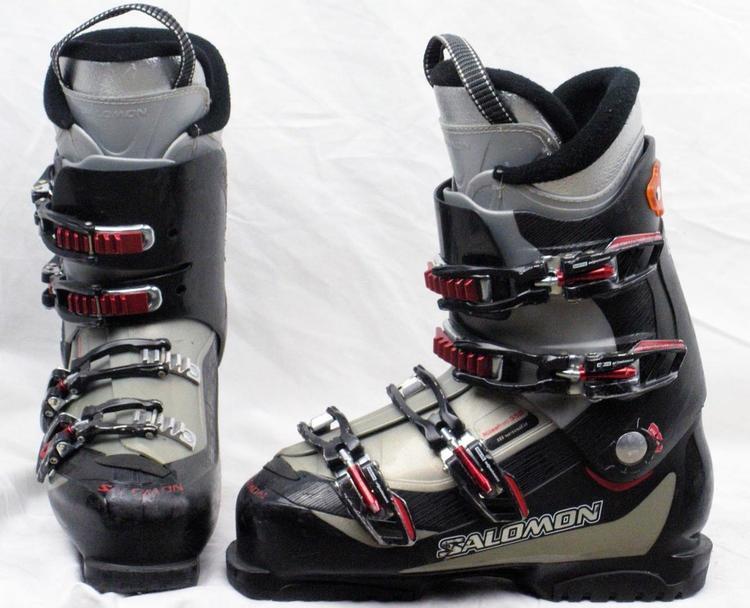 wholesale outlet top design timeless design Salomon Mission 550 Ski Boots Mondo 28.5 Mens 10.5 Black/Gray/Red-USED
