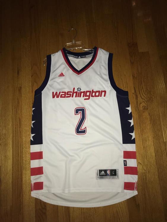 buy popular 47dd3 88ddc John Wall Alternate Wizards Jersey
