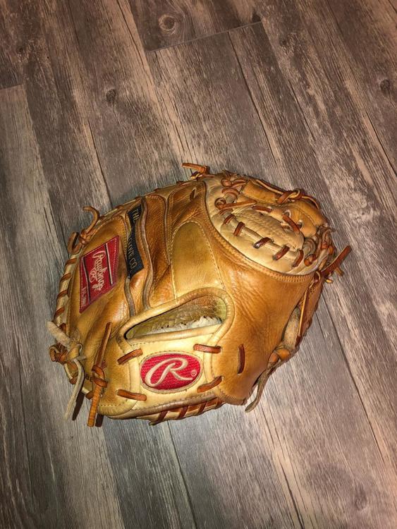 "9fb735136d4 Rawlings Gold Glove Elite Catchers Mitt 32.5"" Dual Core Glove"