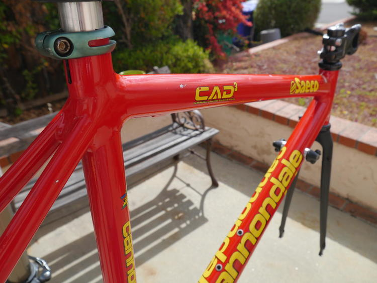 9468f51b591 Cannondale 1998 CAAD 3 Saeco Team Frame - 47 cm | SOLD | Bikes Frames |  SidelineSwap