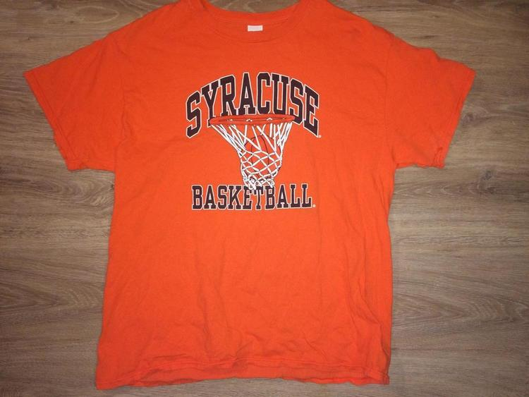new style ce7ea 05c4a (Large) Vintage Syracuse Basketball Shirt