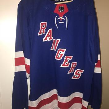 53f10bc71 New AUTHENTIC 2018 adidas NHL New York RANGERS Jersey On Ice NY - SOLD