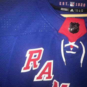 1de2b636d New AUTHENTIC 2018 adidas NHL New York RANGERS Jersey On Ice NY - SOLD.  Comments (0) Favorites (2)