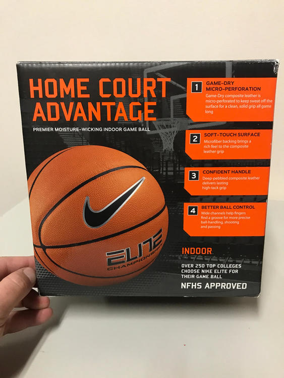 "half off 4ae1b 5f3d5 Nike Elite Championship 28.5"" (619357)   SOLD   Basketball Basketballs    SidelineSwap"