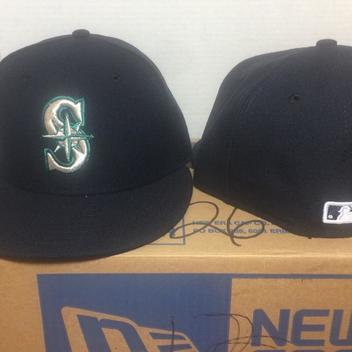 5dbe8d7edef New Era New Seattle Mariners MLB Authentic Collection 59Fifty