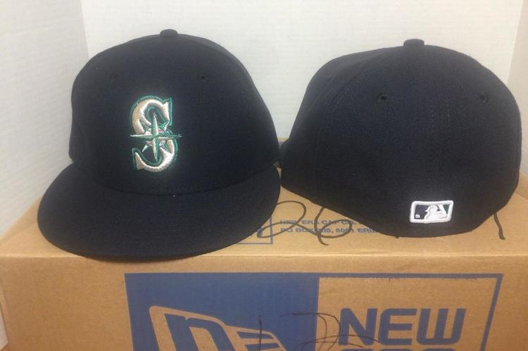 big sale c566f 27c37 New Seattle Mariners New Era MLB Authentic Collection 59Fifty,Cap,Hat sz 7 7 8   No Trades