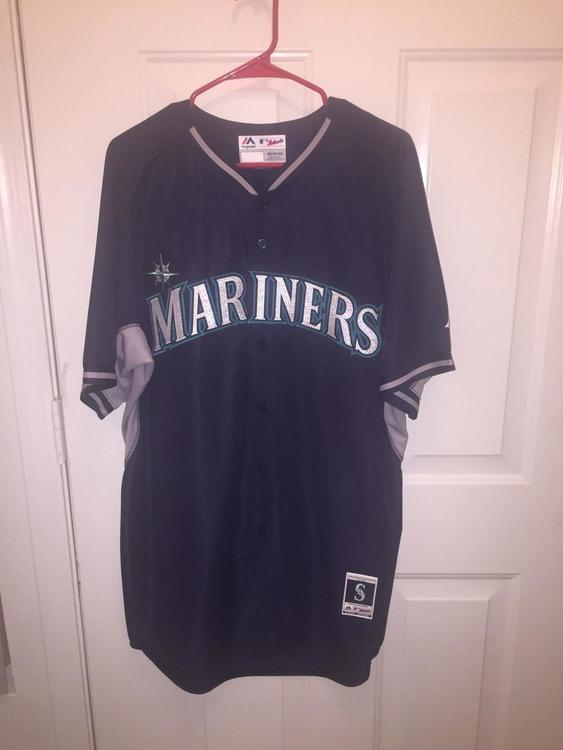 3c840f1b8 Seattle MARINERS MLB AUTHENTIC MAJESTIC Batting Practice Cool Base JERSEY  Adult size 48  No Trades