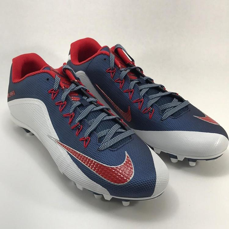 94c22151f2b2 Nike Alpha Pro 2 TD Red White Blue Football Cleats Size 16 New. Related  Items