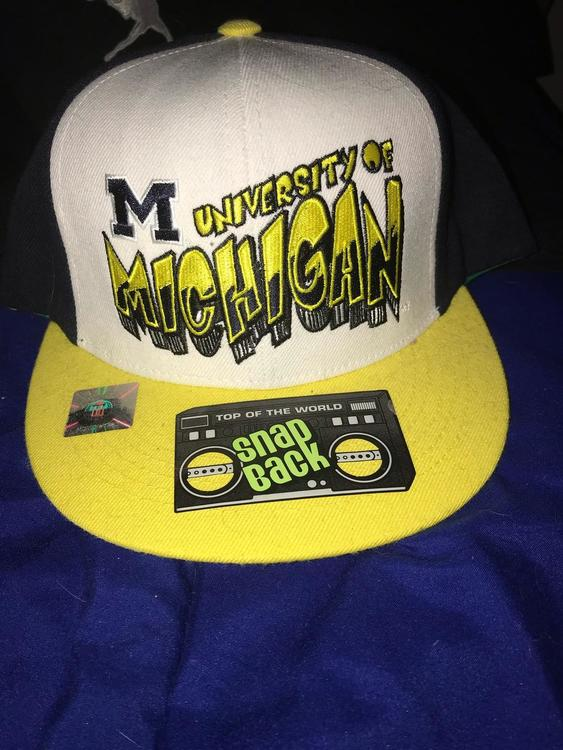 new style cd913 367cf Michigan Hat ( SnapBack)
