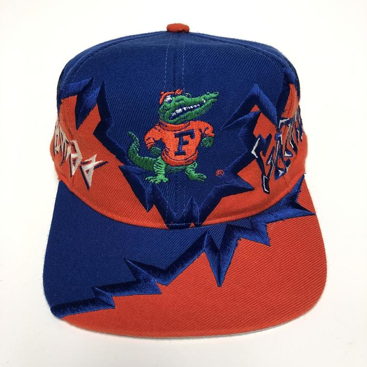 42ccbba122229 reduced vintage florida gators snapback hat new listing f1653 84203