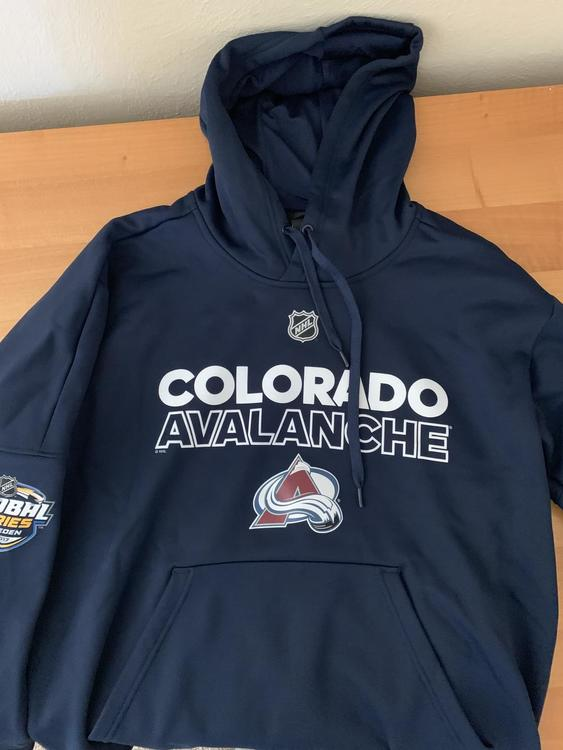 detailed look f9e63 b190d New Adidas Avalanche NHL Sweden hoodie L