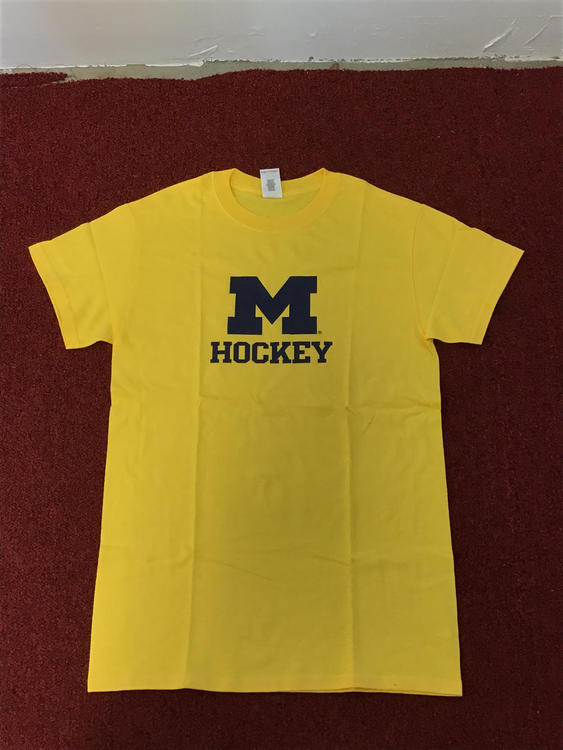 86ea96f7d University Of Michigan Gildan Tee-Shirt | Hockey Apparel, Jerseys ...