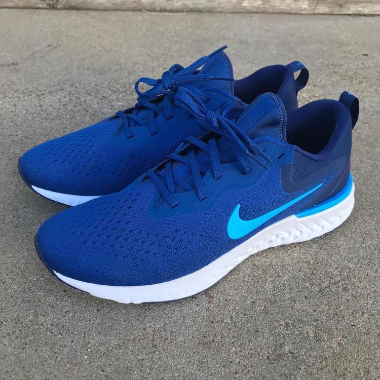 5cf39a167d598 Nike Odyssey React Men Running Shoes Gym Blue Blue Hero Blue Void Light  Bone Sz 10.5