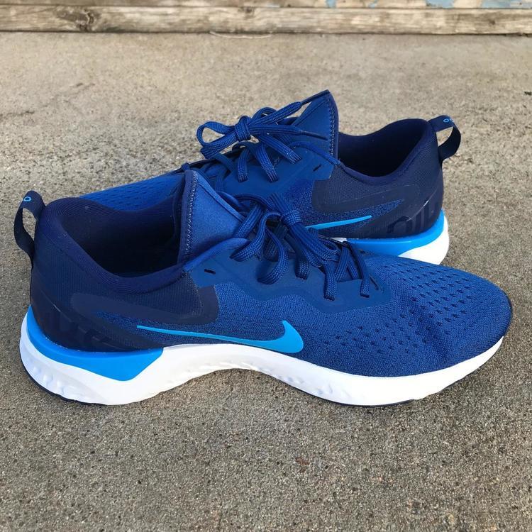 7a3c6a982214 Nike Odyssey React Men Shoes Gym Blue Blue Hero Blue Void Light Bone Sz  10.5