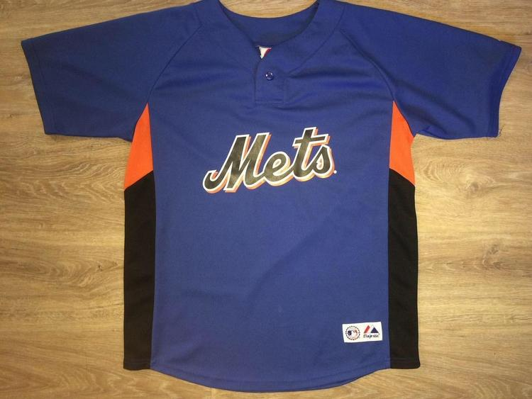 60d2ffa70 Majestic (YOUTH Large) New York Mets   David Wright Jersey ...
