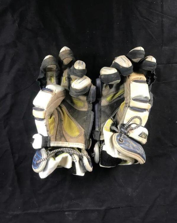 Brine Used 13 St Augustine Lacrosse Gloves Sidelineswap