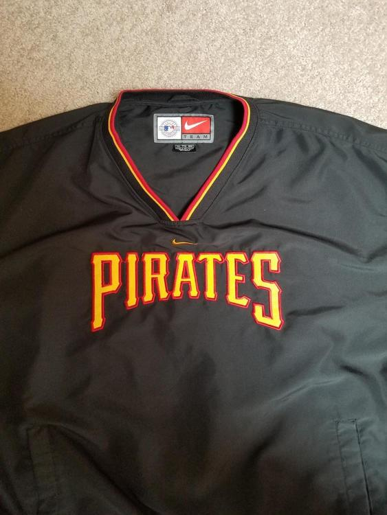 best service da638 3ebc4 Nike Pittsburgh Pirates pullover