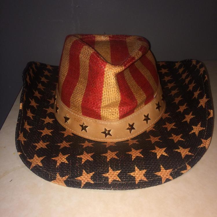 81f15803fa4ff ... American Flag Cowboy Hat. Related Items