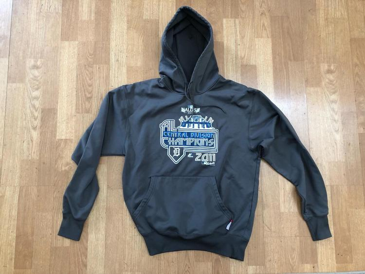 newest ca924 abd14 Detroit Tigers 2011 Central Division Champions Hoodie