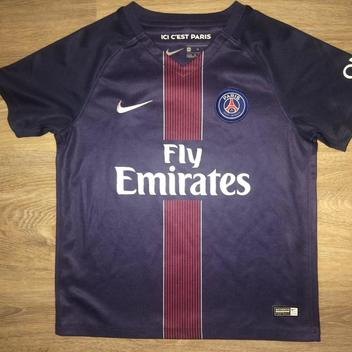 8ebe7e058 (YOUTH Medium) New Nike Paris Saint-Germain F.C. (PSG) Jersey - SOLD