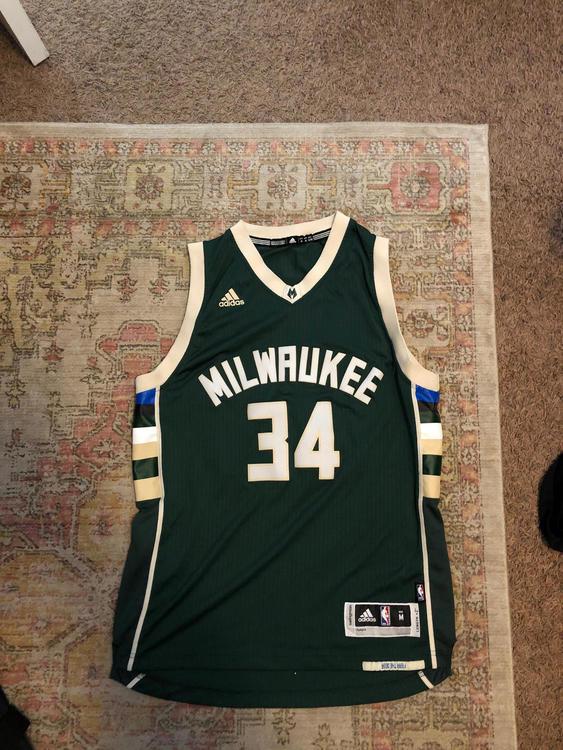 save off de84b a6941 Milwaukee Bucks Giannis Swingman Jersey