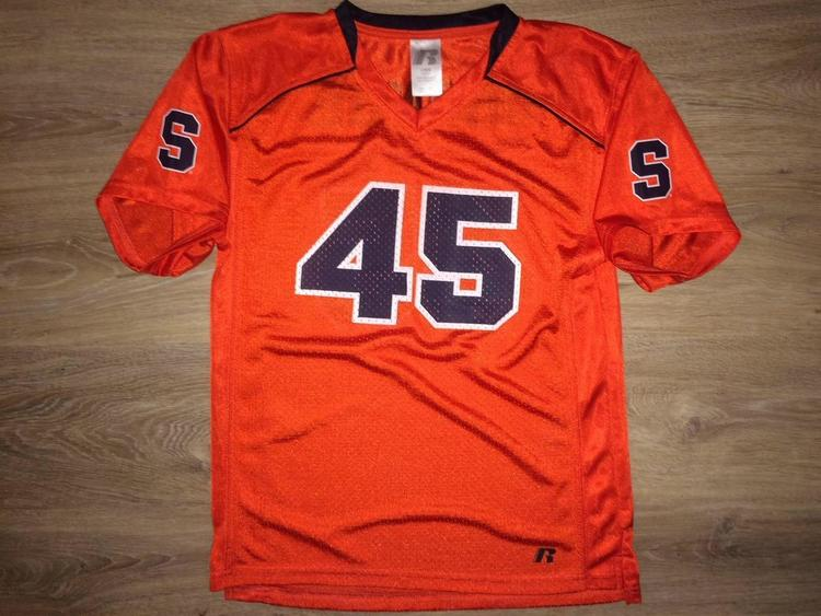 best deals on 89166 a4212 (YOUTH Large) New Syracuse Orange Jersey