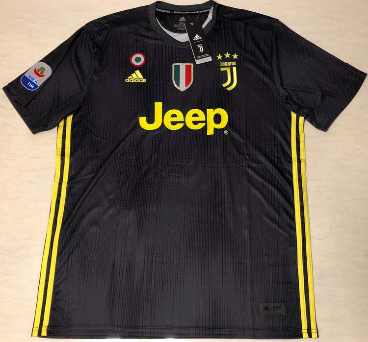 new products a4d31 0c5ae Juventus Away Jeep Ronaldo #7 Soccer Jersey S-2xl Sizes Available