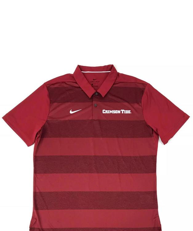 fa945859e Nike New Alabama Crimson Tide Dry Early Season Polo Men's L $65 | 15 ...
