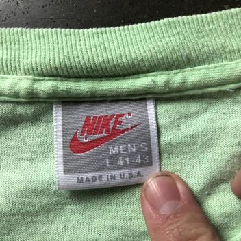 23df8005bb Men s Vintage 90s Nike Gray Tag Just Do It Green Pastel Graphic T Shirt Tee  Sz L