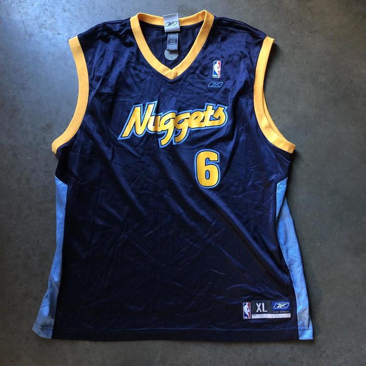 36a685d2e0be ... Nuggets Kenyon Martin Navy Blue Alternate Jersey XL. Related Items
