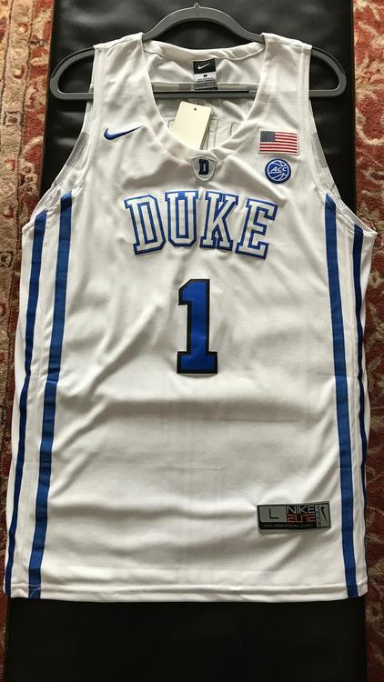 cheap for discount 994d1 a3b55 New Nike Zion Williamson Jersey