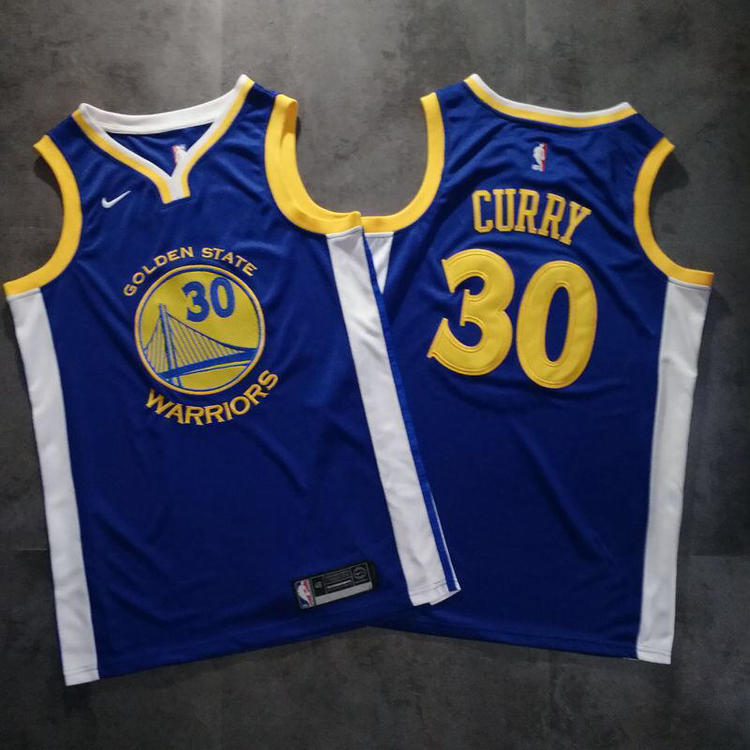 huge discount b828b f873c GSW Curry #30 NBA Jersey Fully Stitched S-2xl