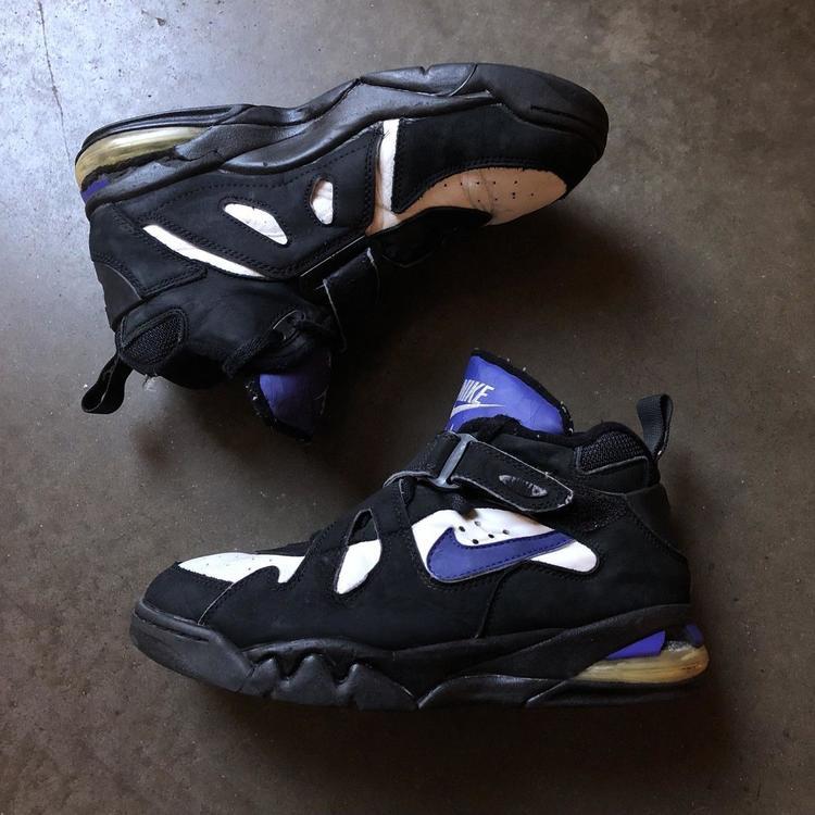 reputable site 0f331 4e745 ... 1993 Original Nike Air Force Max CB Charles Barkley Black Sz 10.  Related Items