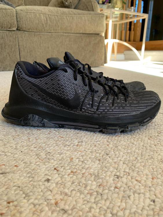 premium selection f967a 63812 Nike KD 8 Blackout   Basketball Footwear   SidelineSwap