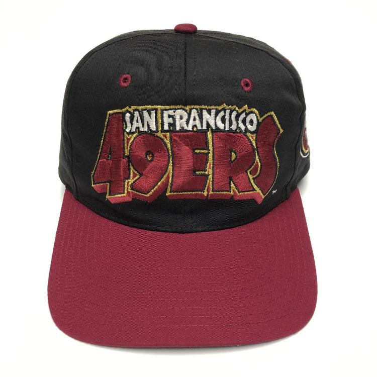 7f1a57d6e33ee Vintage SF 49ers Snapback Hat. Related Items