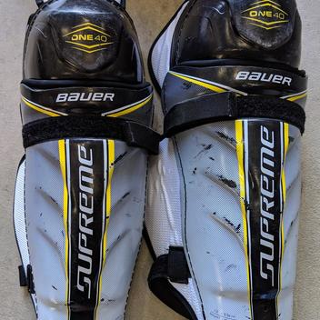 Hockey Shin Pads Buy And Sell On Sidelineswap
