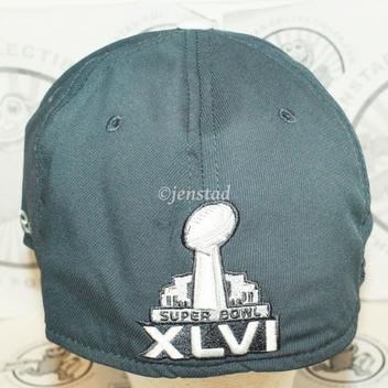 993cb957e0bfac NY NEW YORK GIANTS ON FIELD REEBOK NFL SUPER BOWL CHAMPIONS XLVI GREY HAT  2011. Related Items