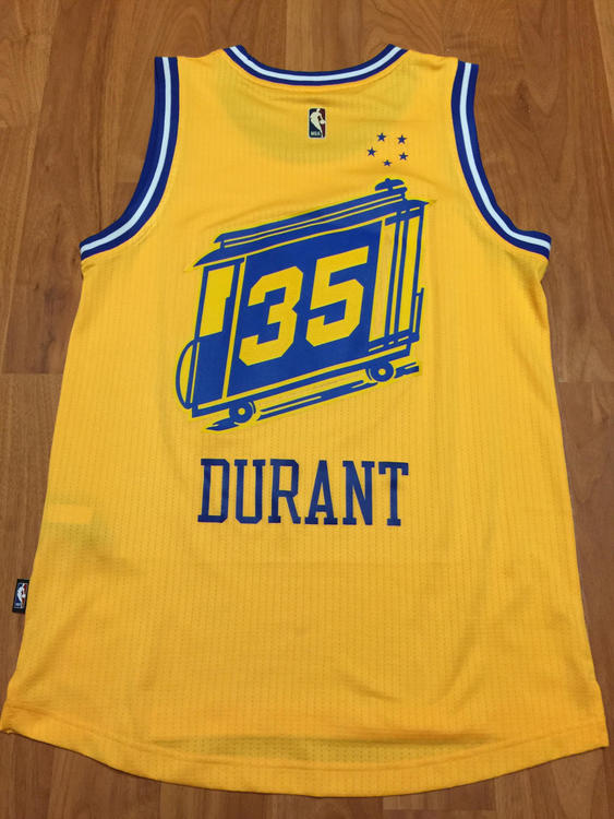 "uk availability 4dc72 81900 Throwback Kevin Durant ""The City"" Jersey"