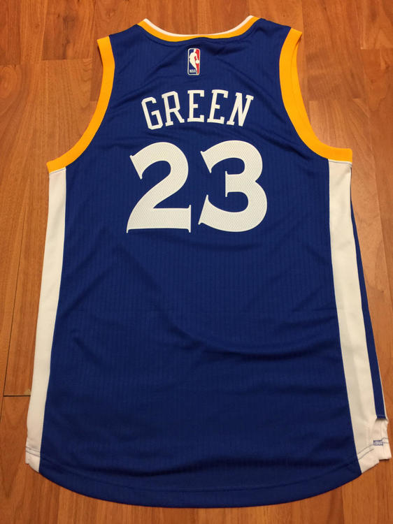 hot sale online 97463 206e0 Throwback Warriors Draymond Green Jersey