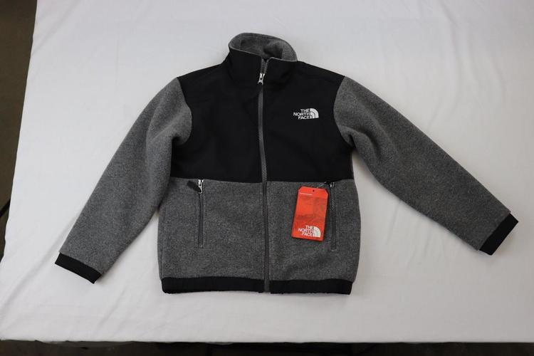 dc27cef0a Boy's Denali Jacket by The North Face, TNF MEDIUM GREY HEATHER, size SMALL  NWT