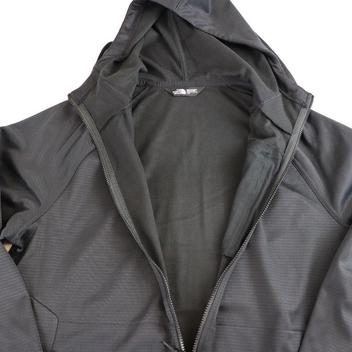 8ac423ee9 The North Face MENS HOODED TRAINING JACKET, FULL ZIP, BLACK,LARGE ...