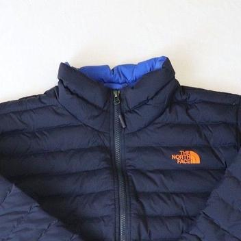 7f32bb26752 2018 NORTH FACE STRETCH DOWN JACKET, ORANGE/NAVY, Men's XL, NWT!! Related  Items