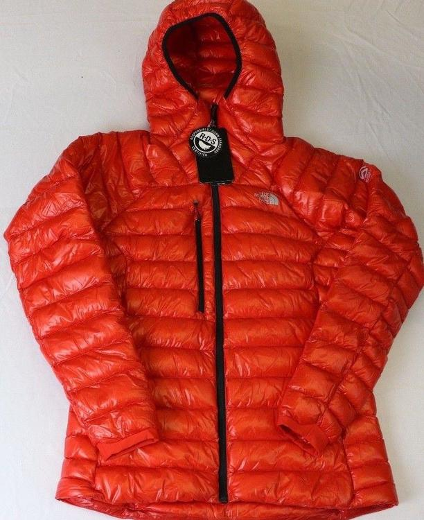 5eafb209e WOMENS THE NORTH FACE SUMMIT SERIES L3 JACKET RED,LARGE, NWT!!