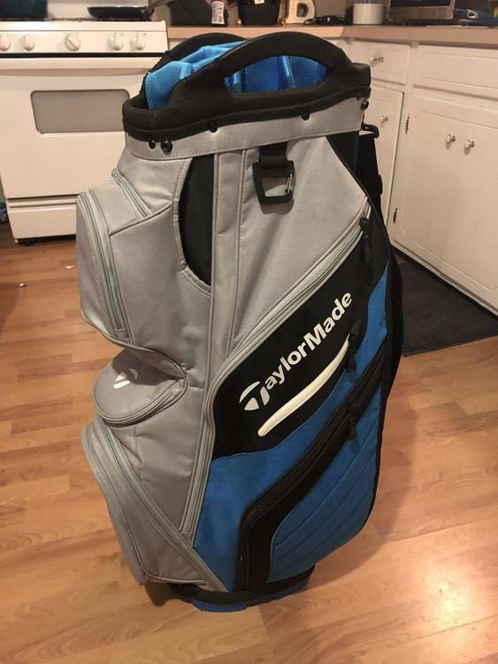 1c5364471f TaylorMade New 2018 Supreme Cart Bag | SOLD | Golf Bags | SidelineSwap