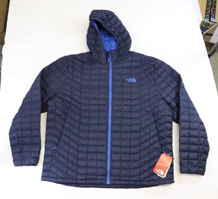 f0f733413 North Face Thermoball XXL Hooded Jacket, Urban Navy Matte/Turkish Sea Blue  NWT!!