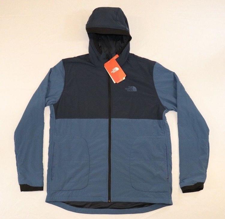167785fb7 2018 North Face Men's LARGE Mountain Hooded Sweatshirt 2.0 Urban Navy Blue  NWT!!