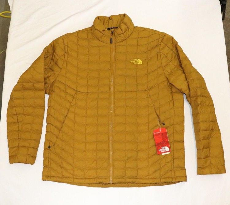 6f1c61d3e XXL Thermoball Jacket by The North Face, Golden Brown Matte ships SAME NWT  !!!!!