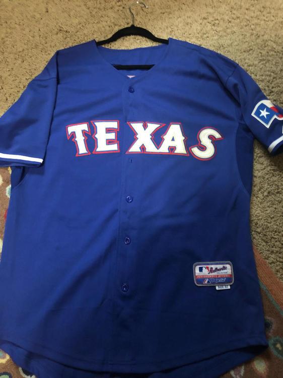 the latest b09b2 b92e9 Texas Rangers Josh Hamilton Jersey Sz 42