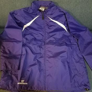 CCM New Spring Field Falcons XL Navy Warm Up Jackets | SOLD