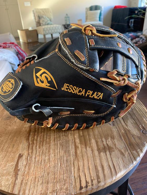 Louisville Slugger Fastpitch Catchers Mitt Softball Gloves Mitts